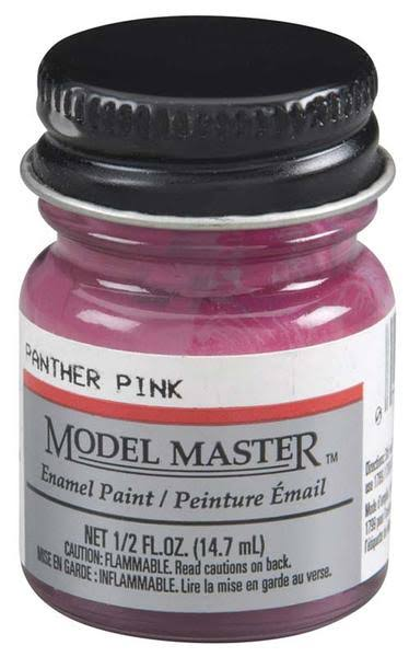 Testors Model Master Enamel Paint - Panther Pink, 1/2oz