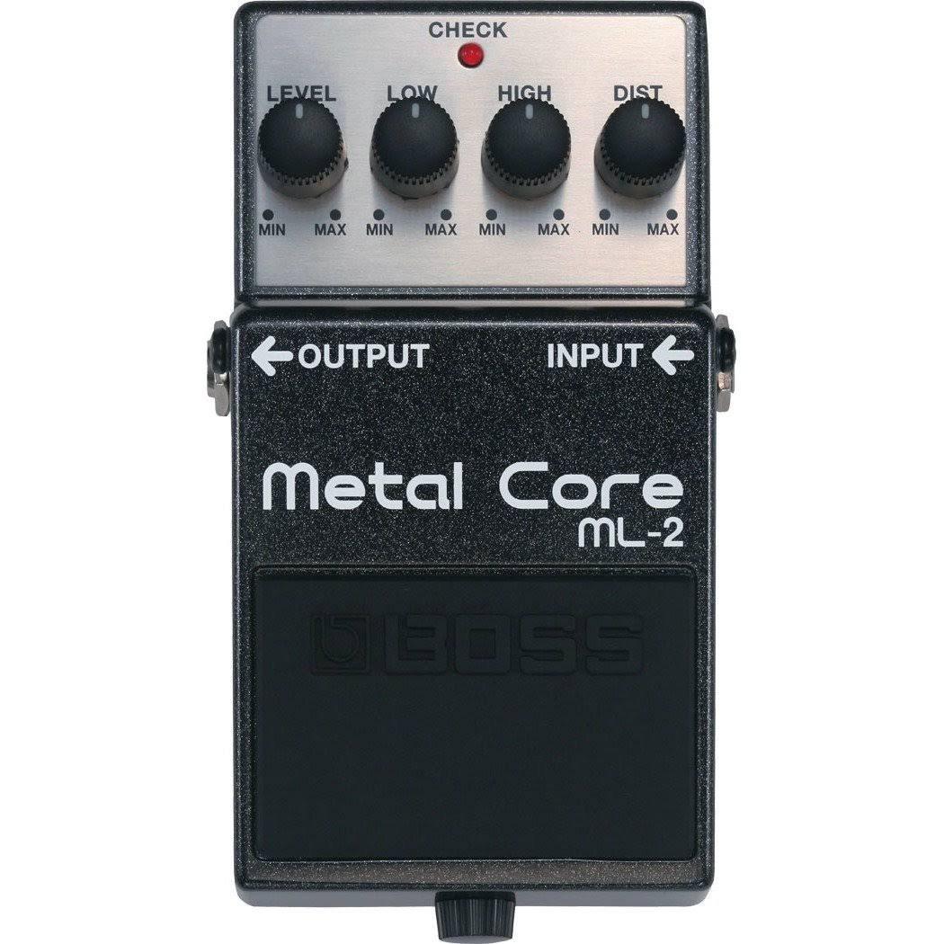 Boss ML-2 Metal Core Distortion Effect Guitar Pedal
