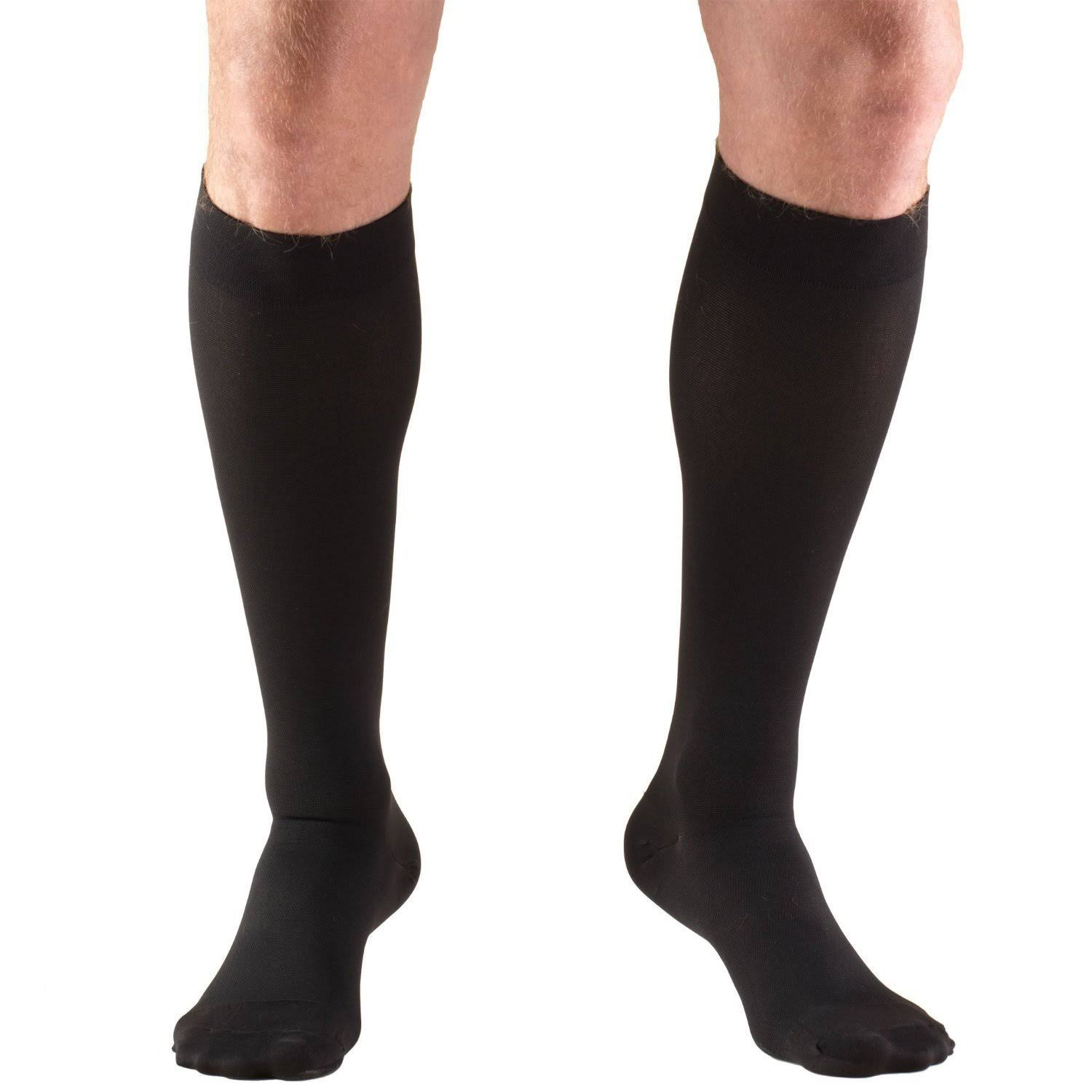 Truform 15-20 mmHg Knee High Medium / Black
