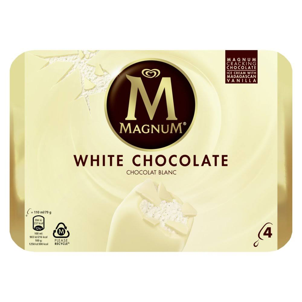 Magnum White Ice Cream - 110ml