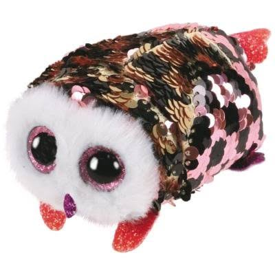 Ty Ty42411 Flippables Teeny TYS Checks Owl Soft Toy