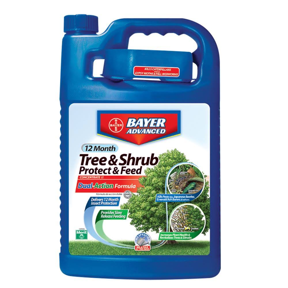 Bayer Advanced 12 Month Tree and Shrub Protect and Feed Concentrate - 1gal