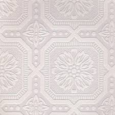Tin Ceiling Tiles Home Depot by White Paintable Wallpaper White Wallpaper Ceiling Tiles And