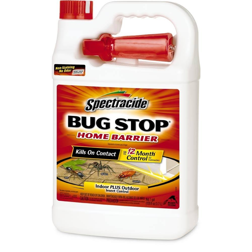 Spectracide Bug Stop Home Barrier Indoor Plus Outdoor Insect Control - 1gal