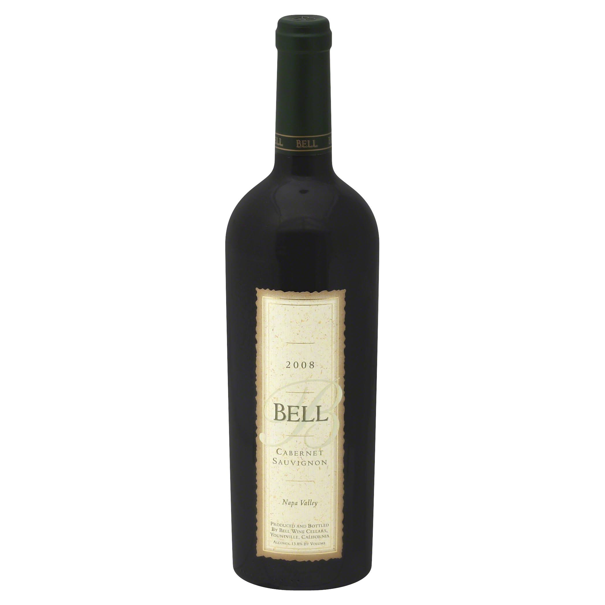 Bell Cabernet Sauvignon, Napa Valley, 2008 - 750 ml