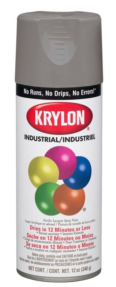 Krylon Indoor/Outdoor Primer Aerosol Spray - Gray, 12 oz