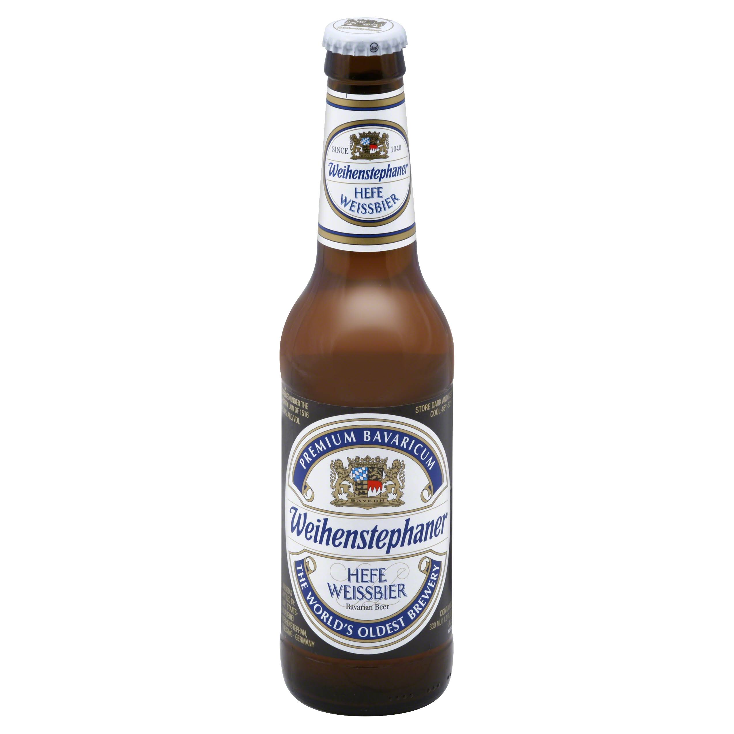 Weihenstephaner Hefe Weissbier Beer - 11.2 fl oz bottle