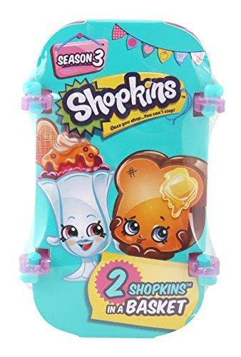 Shopkins Season 3 Mini Figures - x2
