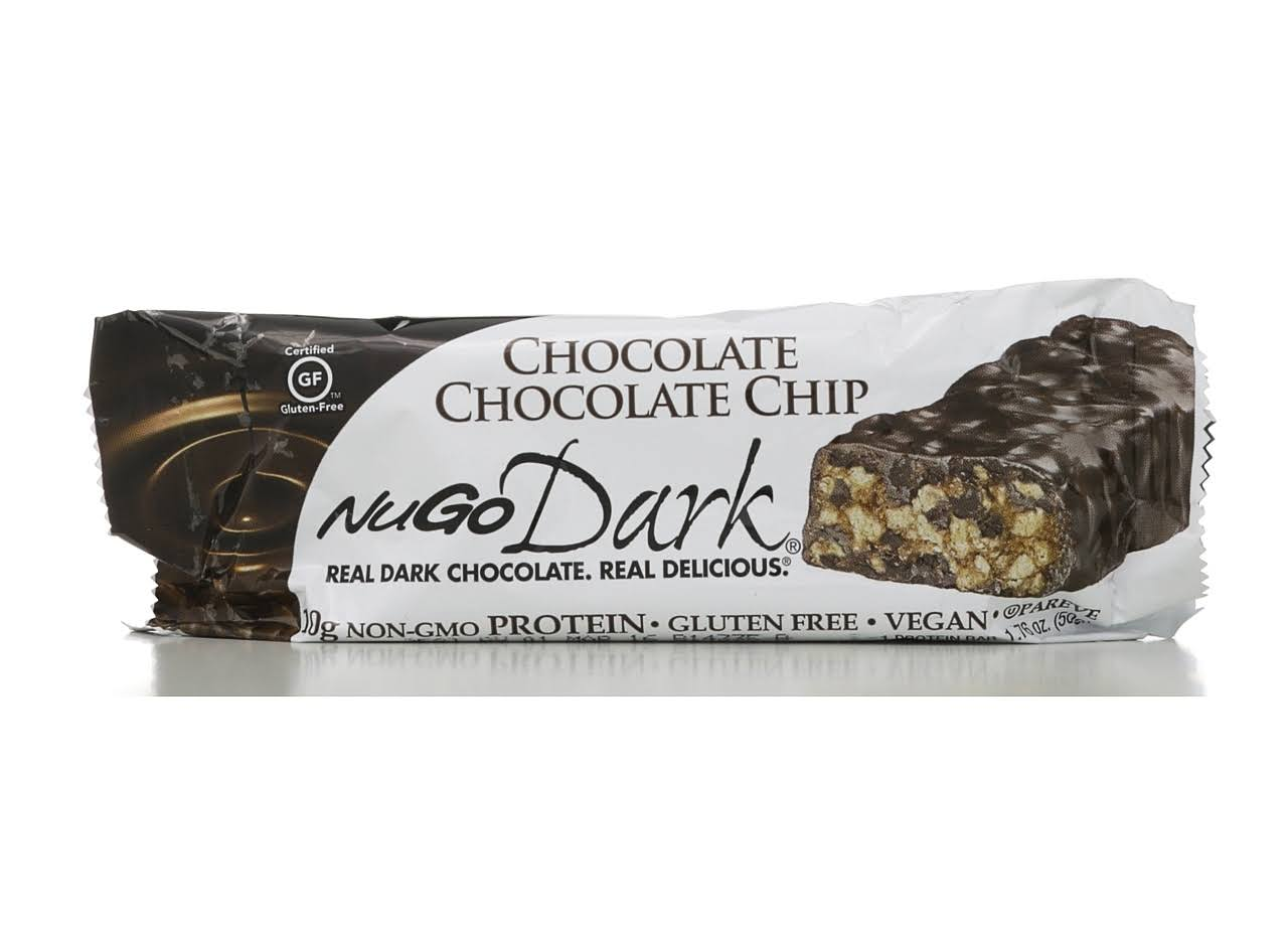 Nugo Nutrition Bar Dark Chocolate Chocolate Chip Bar - 1.76oz
