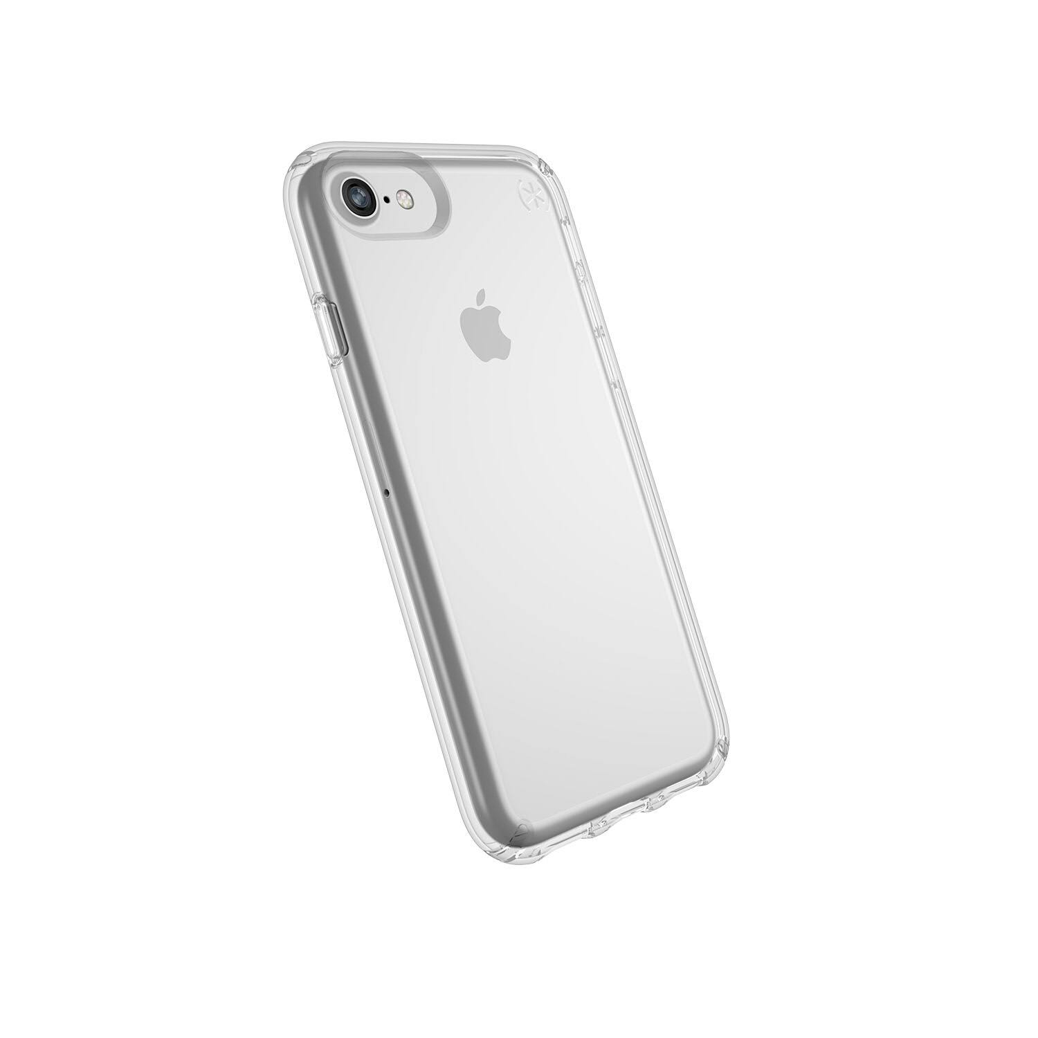 Speck - Presidio Stay Clear Case for Apple iPhone 6s, 7 and 8 - Clear