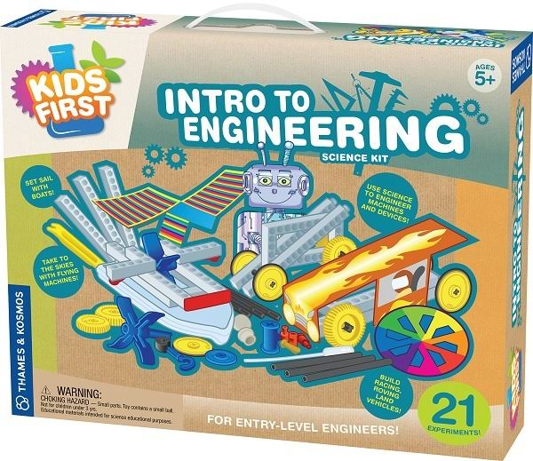 Thames and Kosmos Intro to Engineering Learning Toys