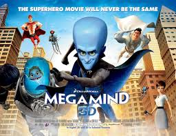 3-d megamind movie