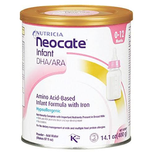 Neocate Infant Formula - with DHA and ARA, 14.1oz