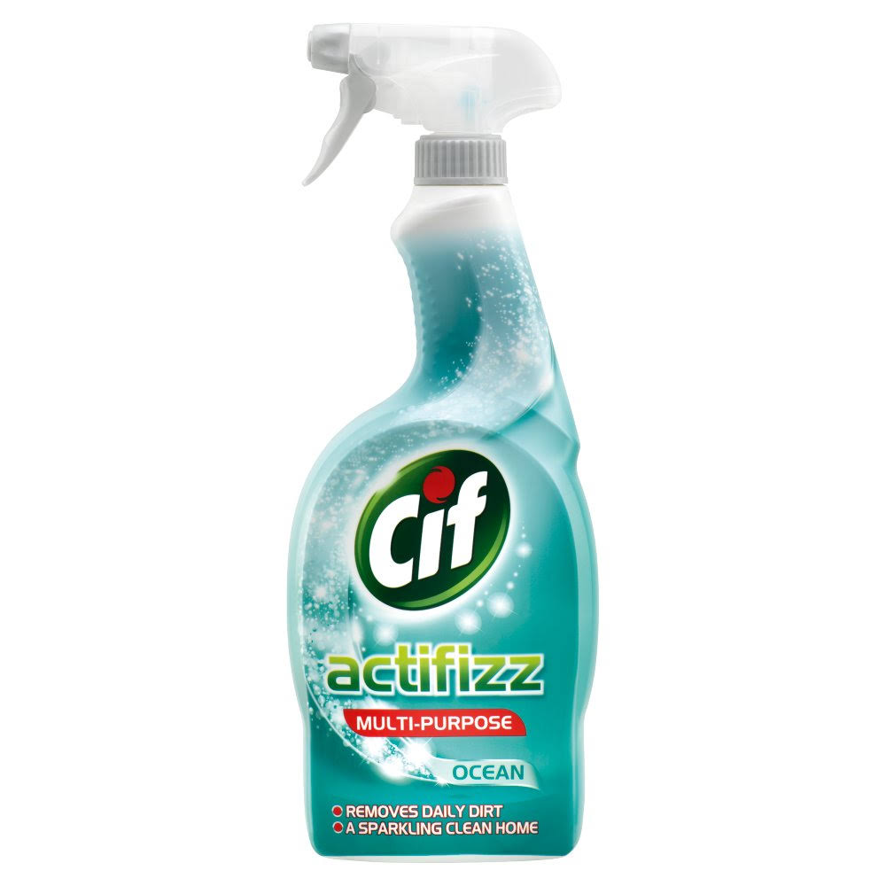 Cif Actifizz Multipurpose Spray - Ocean, 700ml