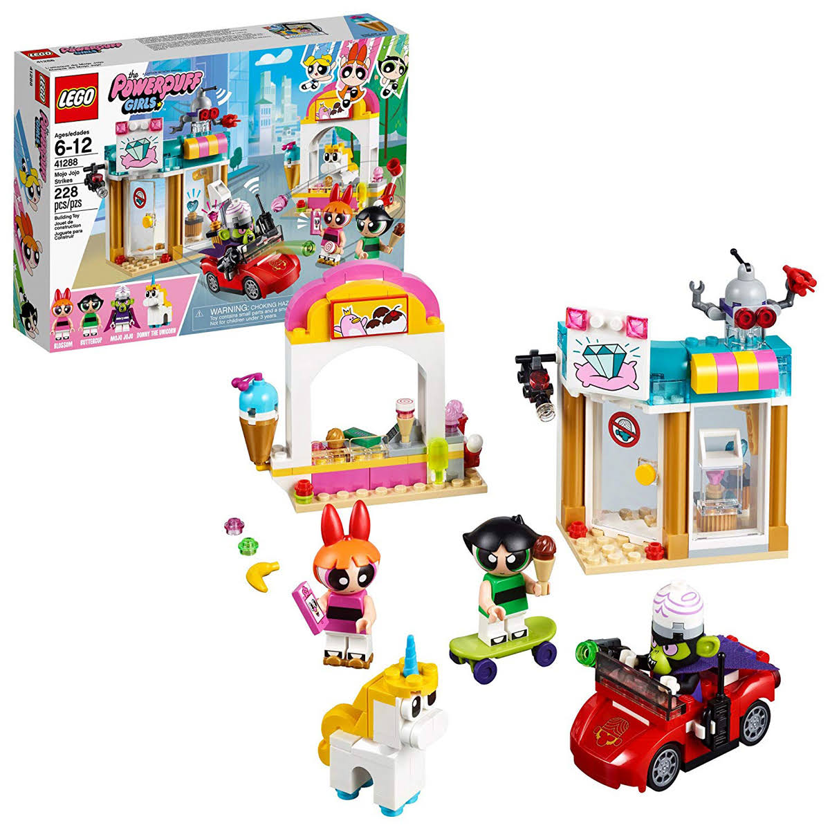 Lego Powerpuff Girls 41288 Mojo Jojo Strikes