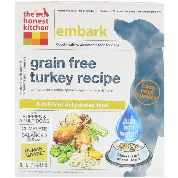 The Honest Kitchen Embark Grain Free Dog Food - Turkey Recipe, 2lbs