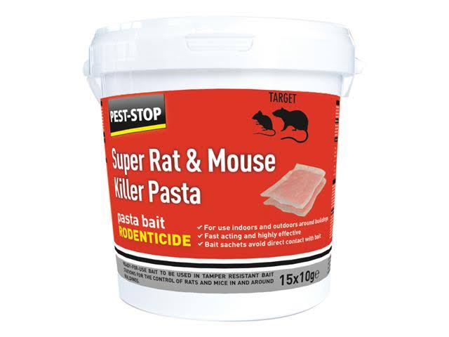 Pest Stop Super Rat & Mouse Killer Pasta Bait