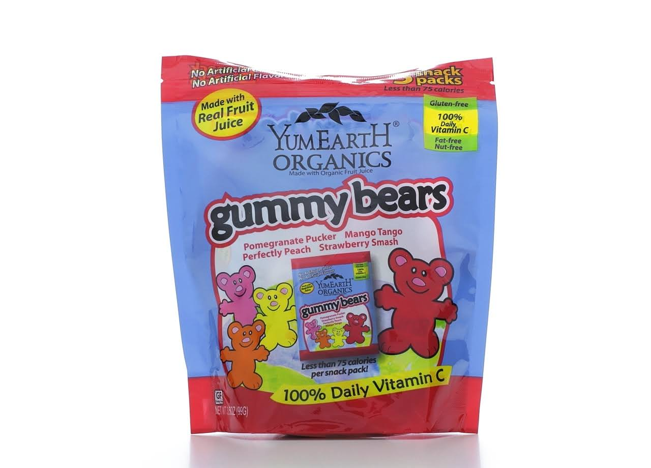 Yumearth Organic Gummy Bears - 99g