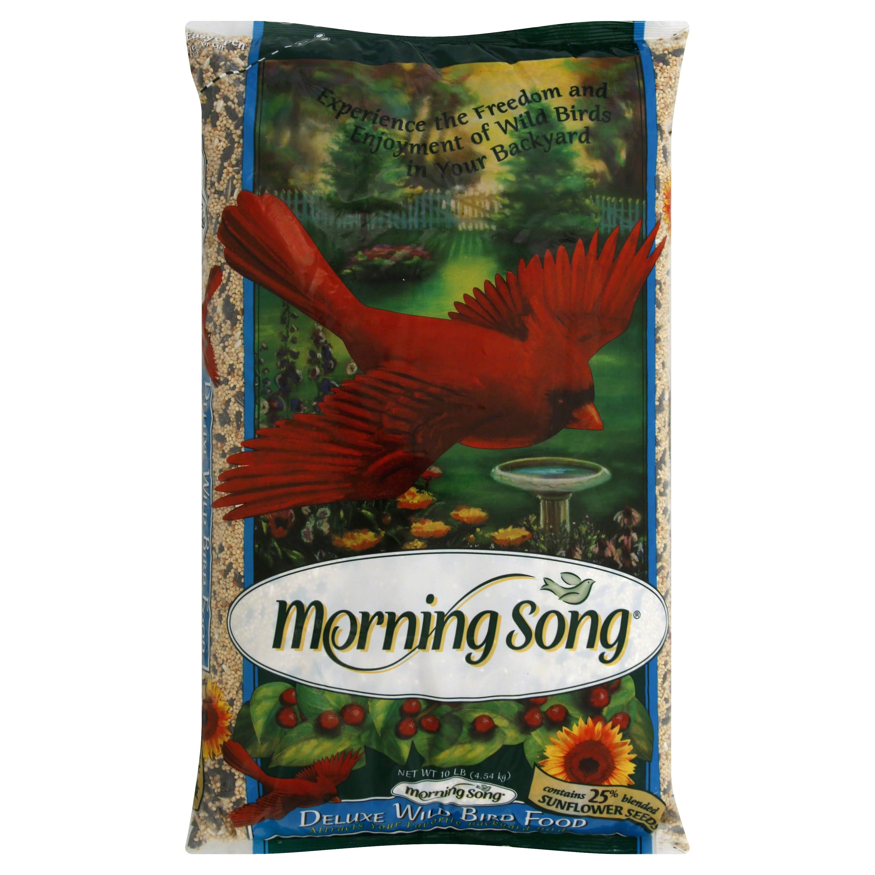 Morning Song 11963 Deluxe Wild Bird Food - 10lbs