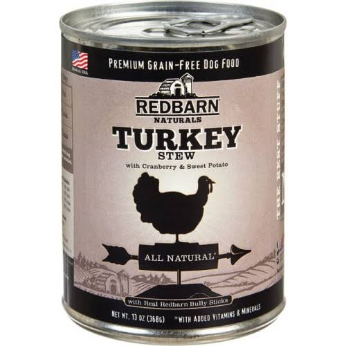 Redbarn Naturals Dog Food - Turkey Stew with Cranberry and Sweet Potato