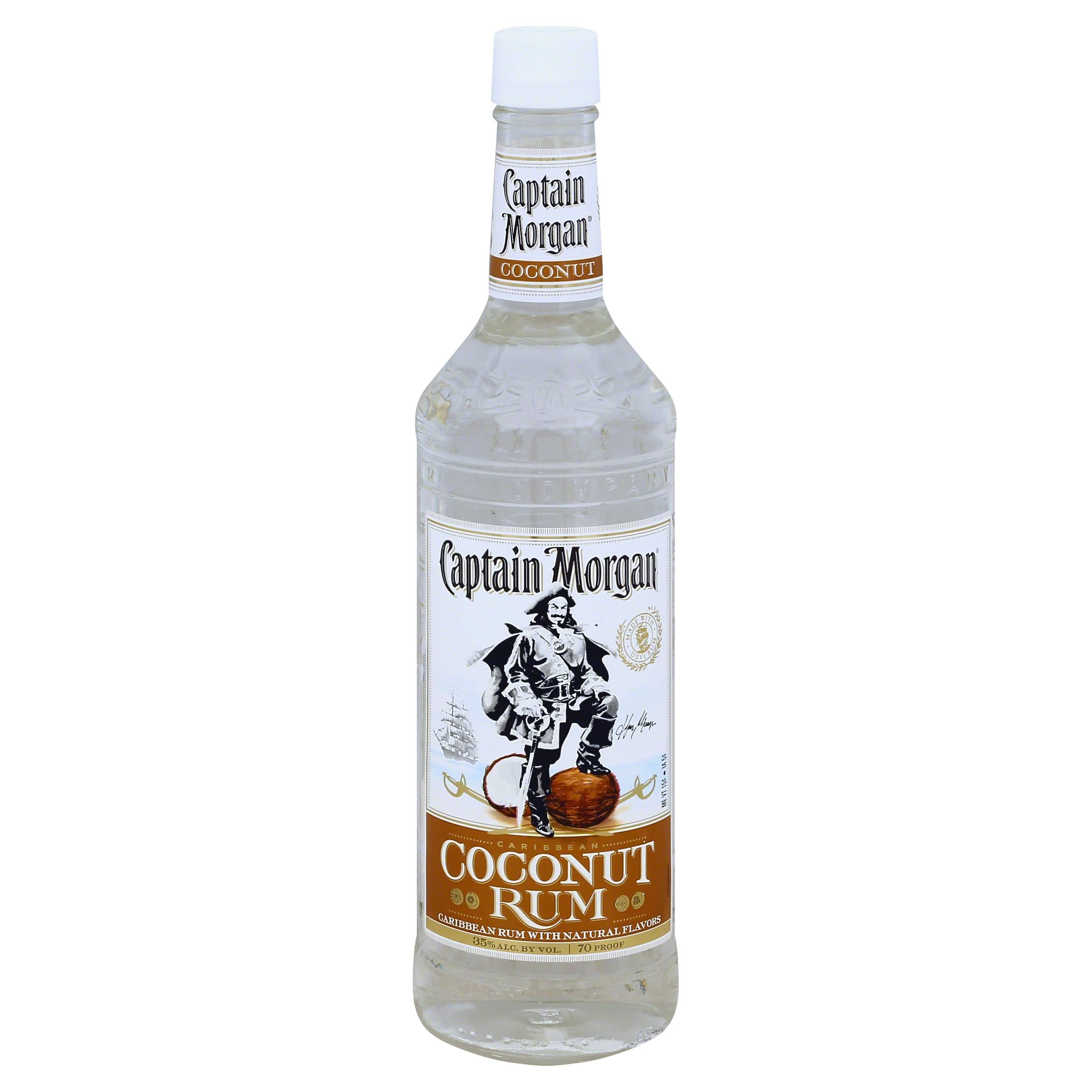Captain Morgan Rum, Caribbean, Coconut - 750 ml