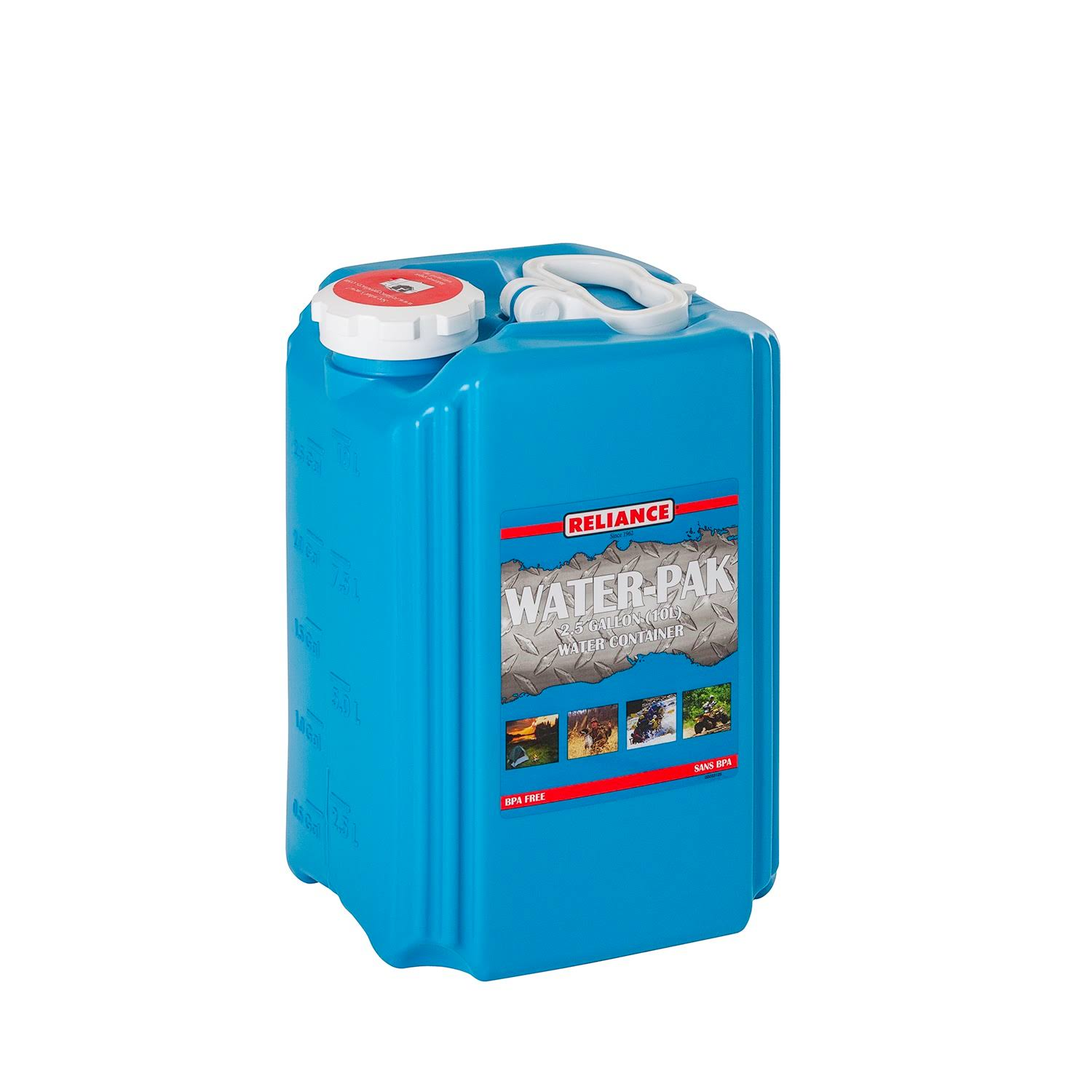 Reliance Aqua-Pak 2.5 Gal Container