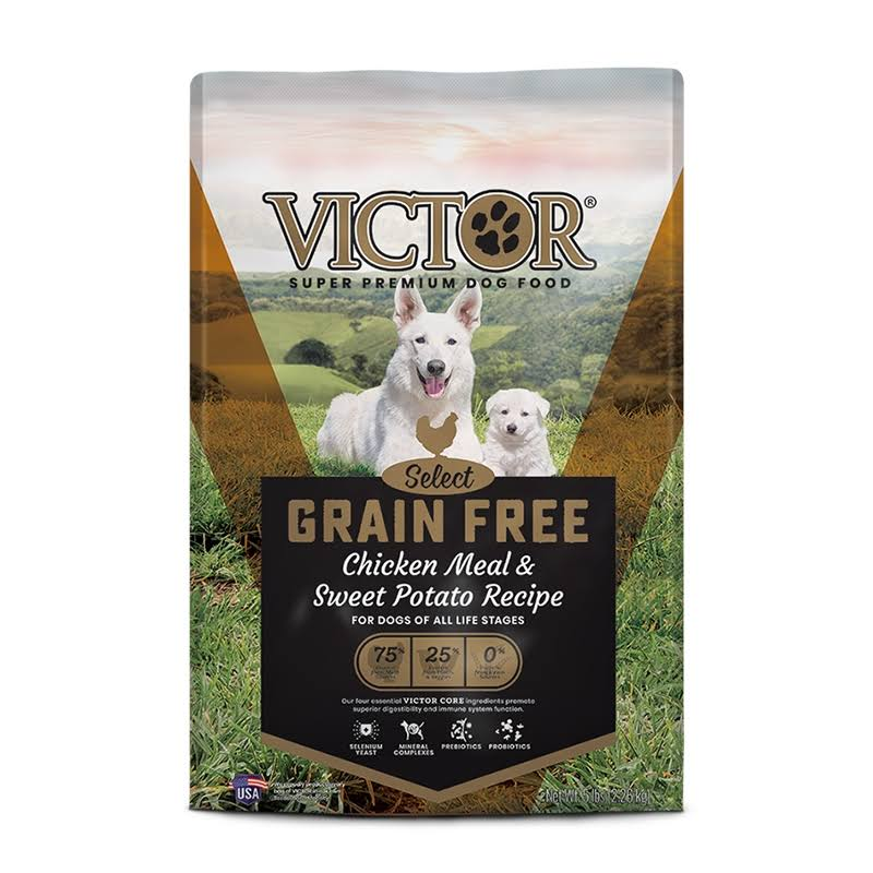 Victor Countryside Chicken Grain-Free Dry Dog Food, 5-lb Bag