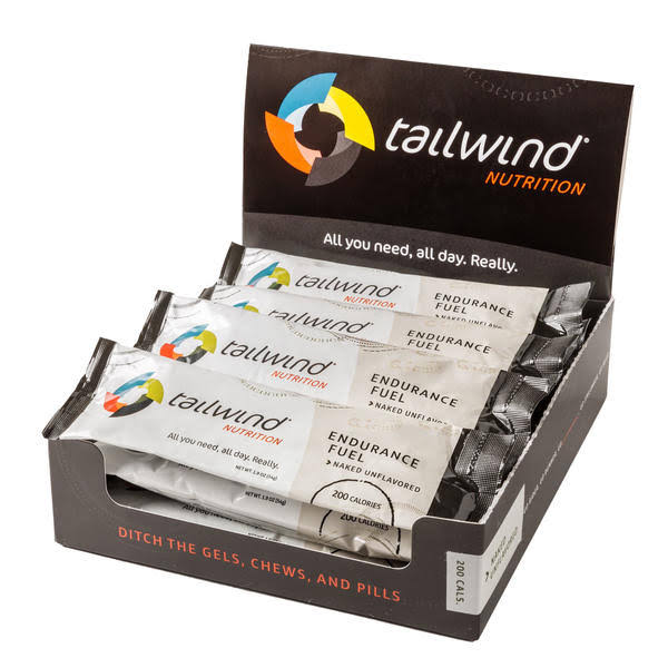 Tailwind Nutrition Endurance Fuel, Naked Unflavored - 1.9 oz bar