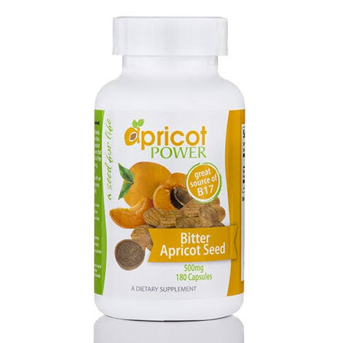 Apricot Power Cellular Support - Apricot Seed Capsules 500 mg - 180