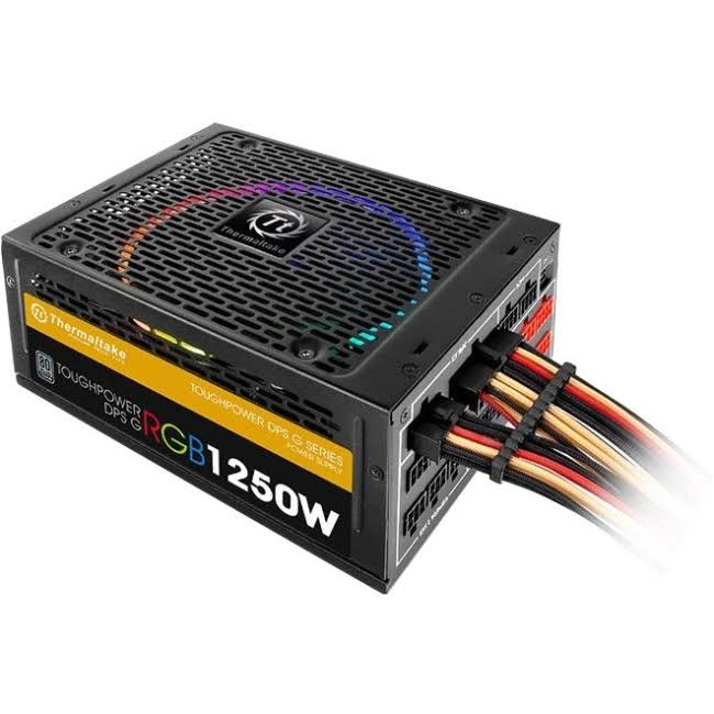 Toughpower DPS G RGB Titanium Power Supply - with Smart Power Management, 1250W