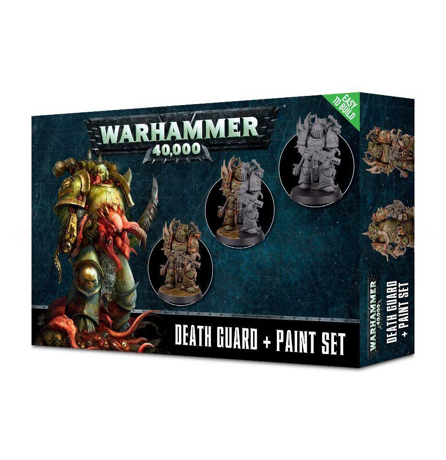 Games Workshop Warhammer 40000 Death Guard Paint Set