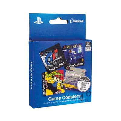 Playstation Game Coasters - 4pk