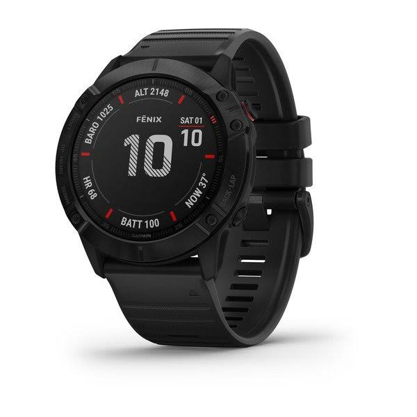 Garmin fenix 6X Pro - Sport Watch with Heart Rate Monitor - Black