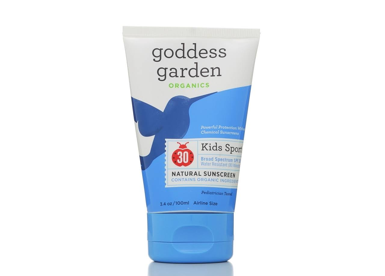 Goddess Garden Organics Kids Sport Natural Sunscreen Lotion - SPF 30, 3.4oz