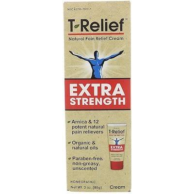T-Relief Pain Relief Cream, Extra Strength - 3 oz