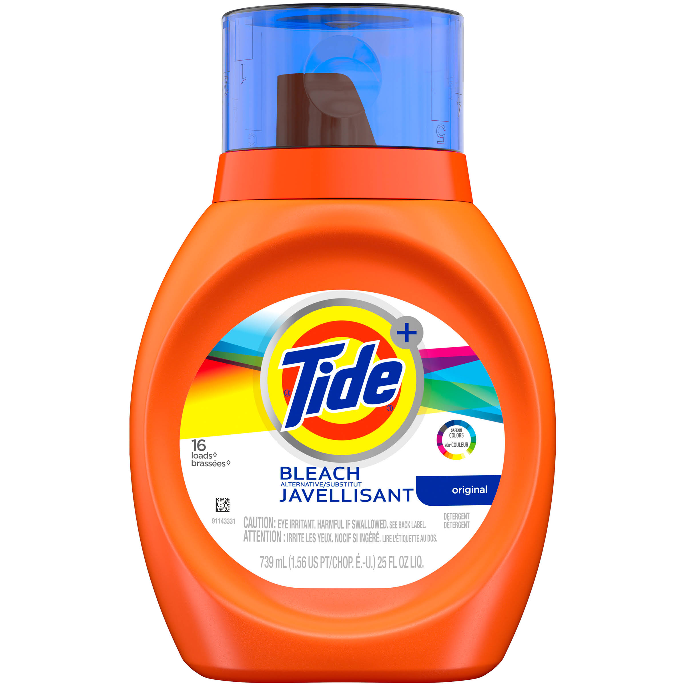 Procter & Gamble Tide Liquid Laundry Detergent With Bleach