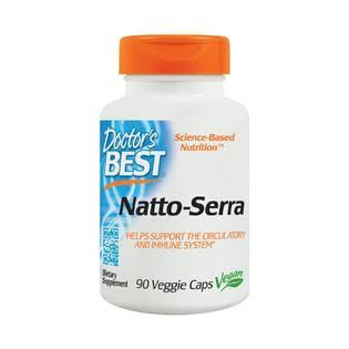 Doctor's Best Natto Serra Nutritional Supplement - 90 Veggie Caps