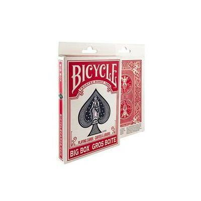 Bicycle Big Box Playing Cards - 18cm x 11cm