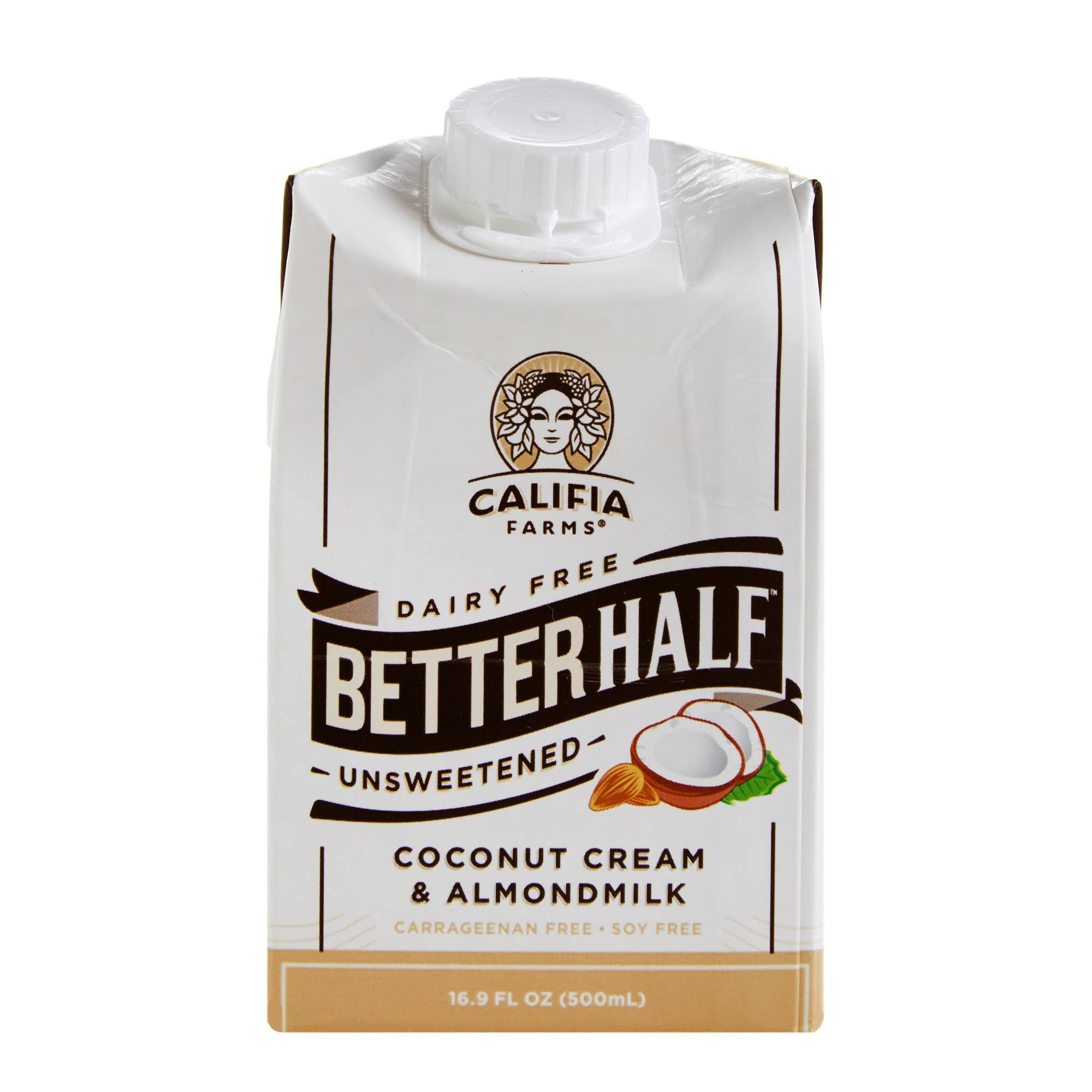 Califia Farms Better Half Unsweetened Coconut Cream & Almond Milk