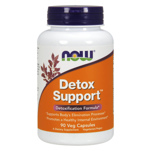 Now Foods Detox Support Dietary Supplement - 90 Capsules