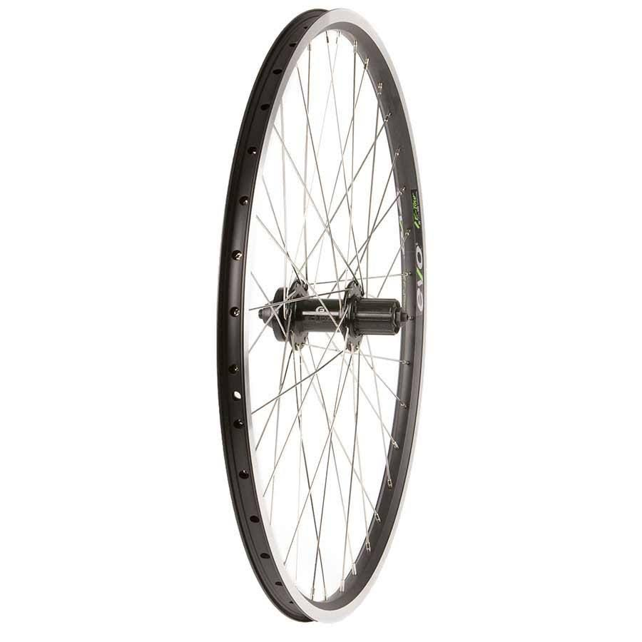 Wheel Shop Evo E-Tour 19 Black / Stainless Wheel Rear 26'' 36 Spokes Formula Disc QR