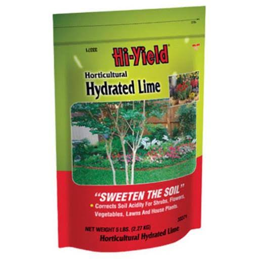 Hi-Yield Horticultural Hydrated Lime Soil