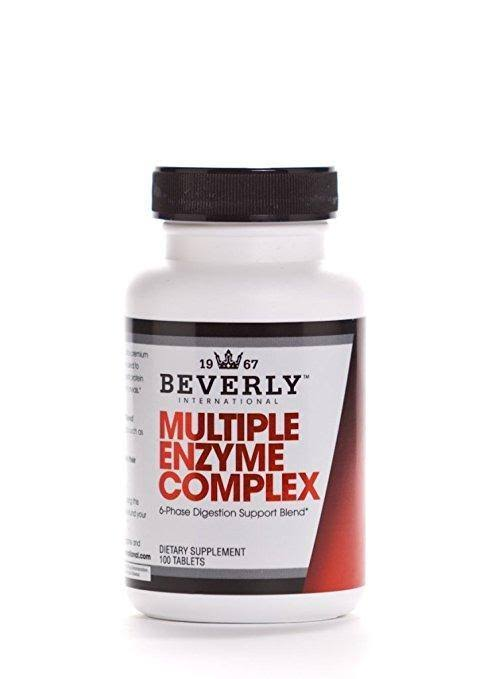 Beverly International Multiple Enzyme Complex Dietary Supplement - 100ct