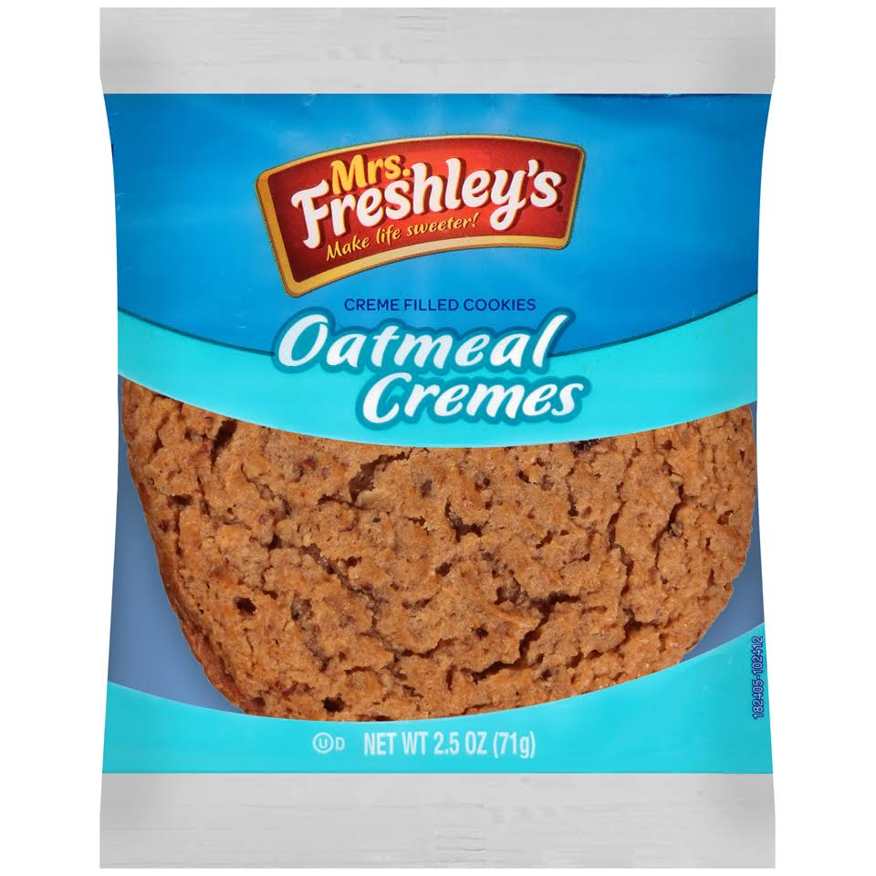 Mrs. Freshley's Oatmeal Creme Pie - 71g