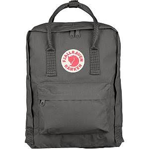 Fjallraven Kanken Original Backpack - Super Grey, 16L