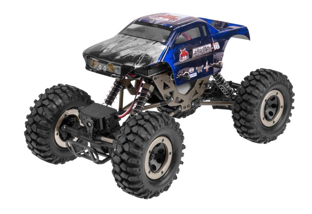 Redcat Racing Everest-16 Electric Rock Crawler - 2.4Ghz Radio Control, 1/16 Scale, Blue