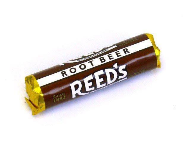 Reed's Root Beer Hard Candy Roll
