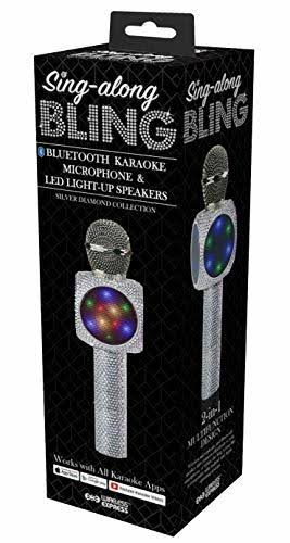 Wireless Express Sing-Along Bling - Bluetooth Karaoke Microphone