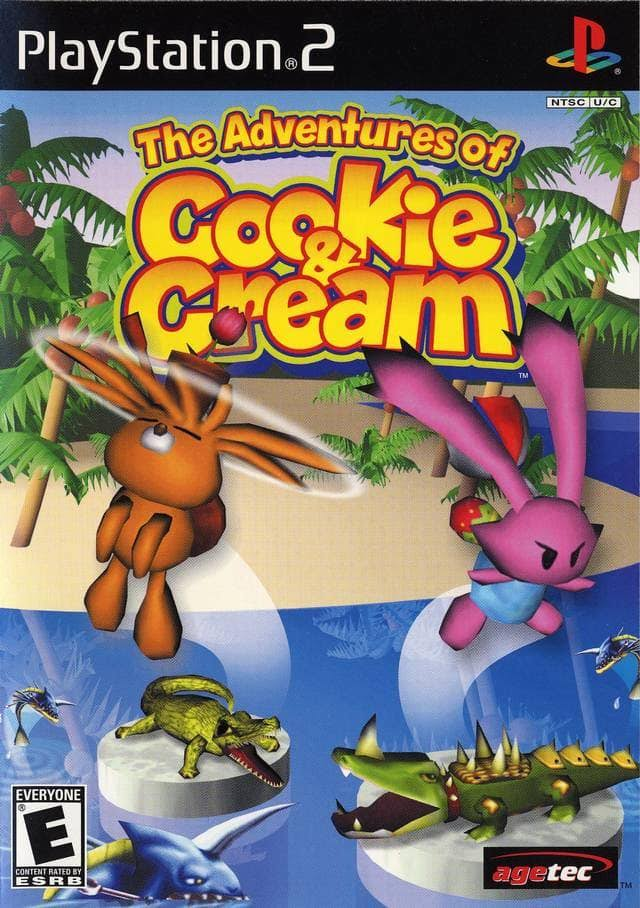 The Adventures of Cookie & Cream - Play Station 2