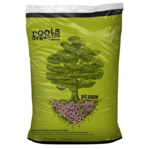 Roots Organics - Big Worm, 1 Cu ft